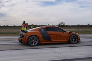This Audi R8 Ran A Half-Mile With An Absolutely Insane Top Speed