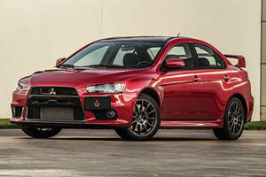 The First Lancer Evolution Final Edition Just Sold For A Bargain Price