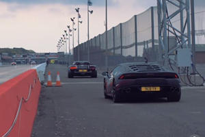 This Is How The Lamborghini Huracan Beats A 918 Spyder In The Quarter Mile