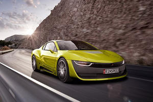 Rinspeed's Just Unveiled Its Self-Driving BMW i8-Based Etos Sports Car