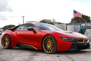Teen Singer Austin Mahone Has A Pretty Badass BMW i8