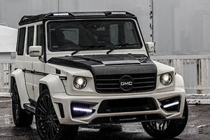 DMC Just Created A 880-HP G-Wagen Covered Completely In Carbon Fiber