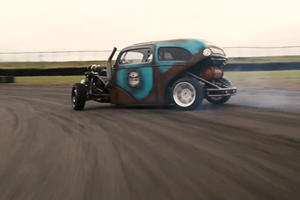 Is This Euro Hot Rod The Craziest Drift Car You've Ever Seen?