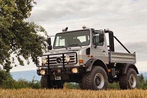 The Terminator's Custom Unimog Is For Sale