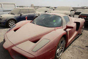 An Enzo Is Collecting Dust Thanks To Dubai Police