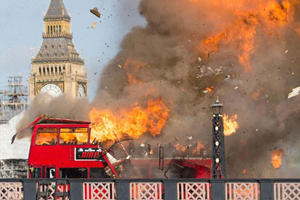 Bus Explosion Sparks Panic In London