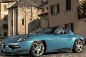 The Alfa Romeo Disco Volante Spider Is A Piece Of Art