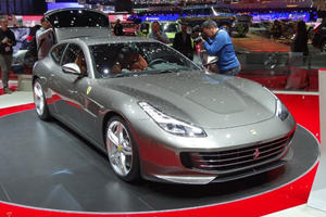 Ferrari Brings The Heat With 680-HP GTC4Lusso