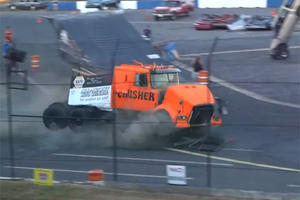 Video: The Crusher's World Record Semi-Truck Jump