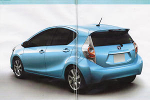 Leaked: Toyota Prius C City Car