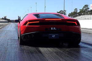 This Tuned Huracan Just Set A New Quarter Mile World Record