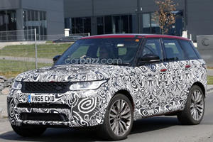Land Rover's Plans For The Range Rover Sport SVR Are So Very, Very Naughty