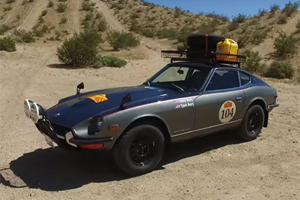 Damn Cool Is Restoring This 1972 Datsun 240Z For A 37-Day Rally Race