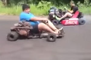 Turbocharged Go-Karts Are Awesome If They Don't Kill You First