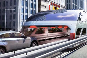 China Builds The Least Annoying Bus In The World To Help Drivers