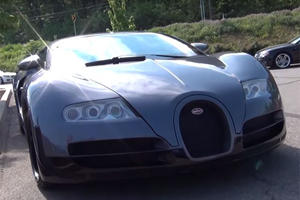Somebody Brought This Fake Bugatti Veyron To Cars & Coffee