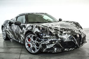 This Is What The Alfa Romeo 4C Looks Like Inspired By Adidas