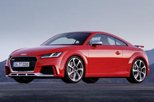 2017 Audi TT RS First Look Review: The Baby-Lambo Is Back With Even More Power
