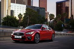 Can The 400- Horsepower Infiniti Q50 Match The Germans?
