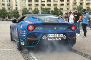 The Gumball 3000 Needs To Exist So That The Ferrari F12tdf Can Be Hooned Like This