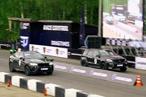 Nothing Is Funny About 1,750 Horsepower Powering 5 Tons Of German Fury On A Russian Drag Strip