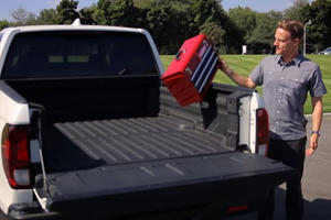 Honda Drops More Stuff Into The New Ridgeline's Bed To Prove How Tough It Is