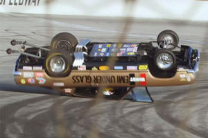 Jay Leno Was Damn Lucky To Walk Away From This Nasty Wreck