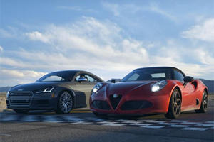 The Audi TTS Finally Has The Perfect Competitor: The Alfa Romeo 4C