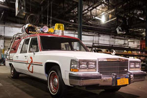 It's Now Possible To Snag A Free Ride In The New 'Ghostbusters' Ecto-1