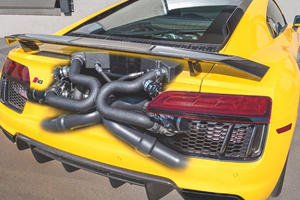 This Crazy Audi R8 Has Twice As Much Power As A Bugatti Veyron