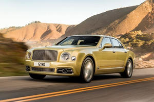 The Bentley Muslanne Could Lose Its V8, But Won't Lose Its Fun