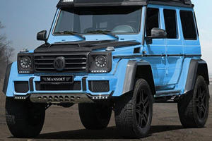 Mansory Makes The G500 4x4 Squared Mercedes Should Have