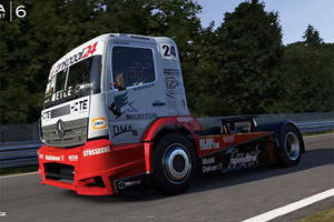 You Can Now Drive A Mercedes-Benz Racing Truck In 'Forza Motorsport 6'