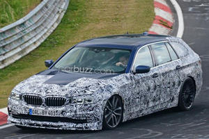We Found The M5 Wagon BMW Refuses To Build Testing At The Ring