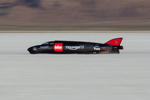 This Pro Motorcycle Rider Hit 275 MPH On His Rocket Bike