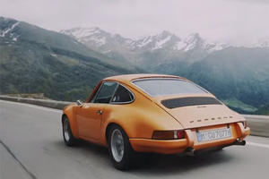 Classic Porsche 911s Blasting Through The Swiss Alps Will Leave You Speechless