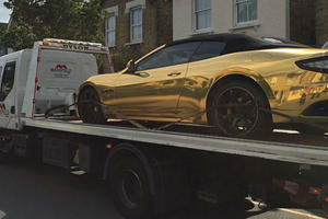 Learner Driver With No Insurance Has To Watch Gold Maserati Get Towed