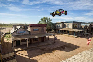 Jumping A Truck Almost 400 Feet Is As Insane As It Sounds