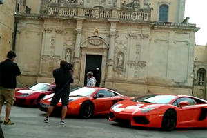 Video: Top Gear Takes a Trio of Supercars for a Ride in Rome