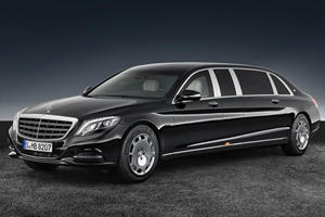 Diplomats And VIPs Can Roll In Style With The New Mercedes-Maybach S 600 Pullman Guard