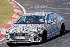 The New Audi S7 Will Sport Some Serious Go-Fast Hardware