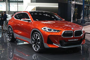 The BMW X2 Concept Is A Middle Finger Straight At The Mercedes GLA
