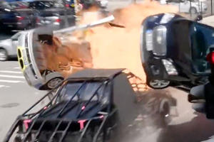 This Transformers 5 Prop Is Literally Just A Car Built To Destroy Other Cars