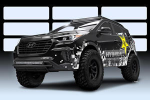 Hyundai Teams With Rockstar To Build A Nitrous-Infused Off-Road Monster