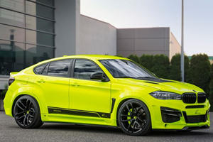 This Eye-Popping 750-HP BMW X6M Is What Happens When Tuners Go Nuts
