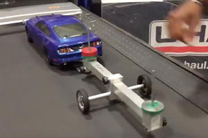A Toy Mustang And A Treadmill Is All You Need To Learn About Tow Safety