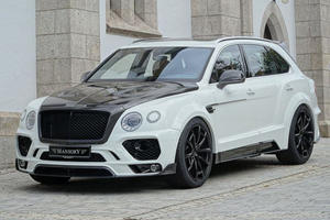This Carbon Fiber-Covered Bentayga From Mansory Might Annoy Bentley