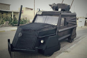 These Are The Custom Cars And Trucks Designed To Destroy ISIS