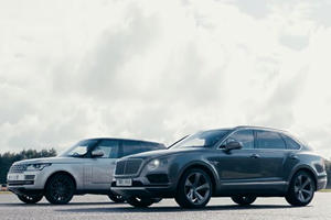 Someone Finally Decided To Race A Bentayga And A 500-HP Range Rover