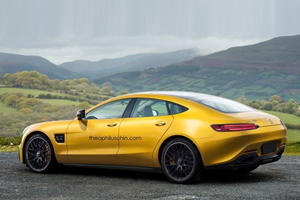 Mercedes Is Building A 600 HP Four-Door AMG GT To Kill The Panamera